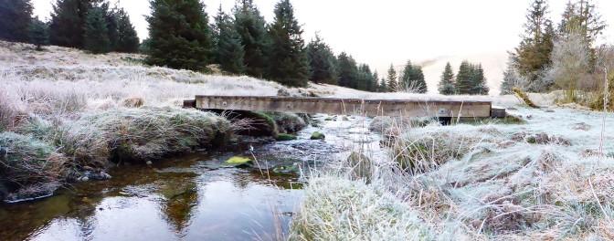 bothy bridge morning